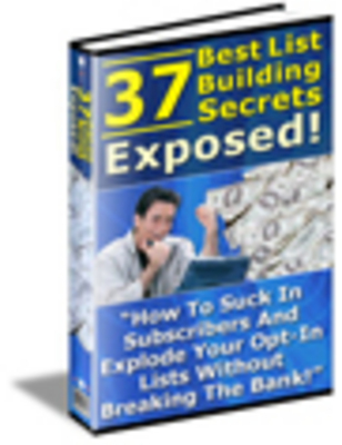 Product picture 37 List Building Secrets