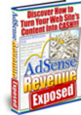 Product picture Adsense Revenue Exposed