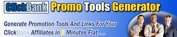 Product picture Click Bank Promo Tools Generator